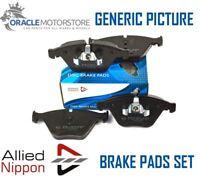 NEW ALLIED NIPPON FRONT BRAKE PADS SET BRAKING PADS GENUINE OE QUALITY ADB01323