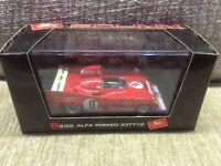 ALFA ROMEO 33TT12 1975 MONZA 1000KM RACE ENTRY RED 1:43 BRUMM MODEL *VGC BOXED*