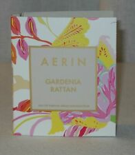 NEW Aerin GARDENIA RATTAN Eau de Parfum .07 fl.oz CARDED SAMPLE Travel Size Mini