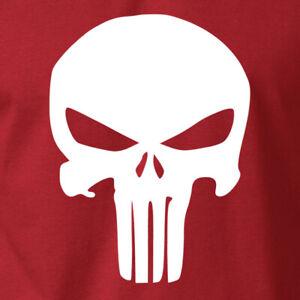 Punisher Skull T-Shirt Mercenary Liberty Rights on Ring Spun Cotton Tee