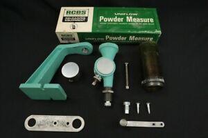 RCBS Reloading Uniflow Powder Measure, 2x Drums, Stand & Press Mount