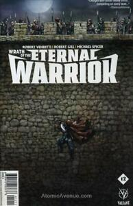 Wrath Of The Eternal Warrior #12A VF; Valiant | save on shipping - details insid
