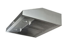 "Stainless Steel 30"" Range Hood Under Cabinet Kitchen Fan Baffle Filter Stove Fan"