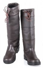 Winter Damen Fashion Stiefel BELMOND Lazura by HKM Leder dunkelbraun NEU