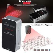 Wireless Bluetooth Laser Projection Virtual Keyboard for PC Tablet Laptop HOT Z#