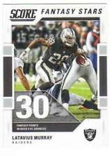 2017 Panini Score Football Fantasy Stars #9 Latavius Murray Raiders
