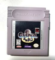 Casper ORIGINAL NINTENDO GAME BOY Tested + Working & Authentic!