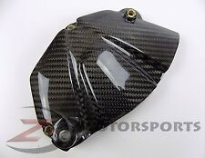 2006-2017 Yamaha R6 Side Engine Sprocket Chain Case Cover Panel Carbon Fiber