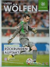Programm 2014/15 VfL Wolfsburg - Bayern München