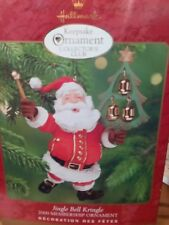 Hallmark 2000 Jingle Bell Kringle Club Exclusive Santa Claus Christmas Ornament
