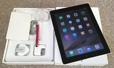 * SUPERB* Apple iPad 4th Generation 128GB, Wi-Fi, 9.7in - Black.Box& Accessories