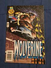 WOLVERINE #102 Rare NEWSSTAND Variant [Marvel Comics]