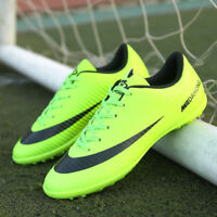Men's Boys Kids Soccer Cleats Shoes Indoor TF Sports Football Training Sneakers