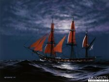 L'amiral Nelson HMS Euryalus Battle of Trafalgar Naval ART postcard Frégate Navire