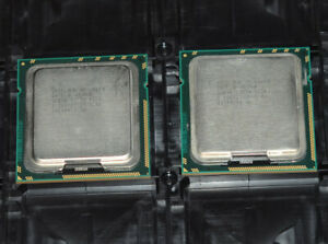 Matching pair Intel Xeon L5640 SLBV8 LGA 1366 2.26 GHz 5.86 GT/s CPU Processor