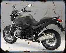 Bmw R 1200R 11 2 A4 Metal Sign Motorbike Vintage Aged