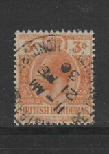 BRITISH HONDURAS #77  1917  KING GEORGE V     F-VF  USED  a