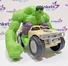 Avengers Marvel Hulk Smash Car 2015 Jakks Pacific - No Remote - Marvels Avengers