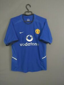Manchester United Jersey Player Issue 2002 2003 Third 3rd S Shirt Mens Nike ig93