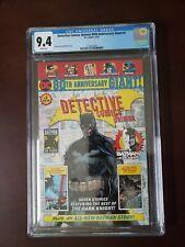 CGC 9.4 DC Comics DETECTIVE COMICS BATMAN 80th Anniversary Giant #1 WP Walmart