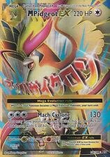 Pokemon TCG XY EVOLUTIONS : MEGA M PIDGEOT EX 105/108 FULL ART
