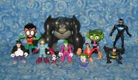 Lot of 11 DC Comics Action Figures Super Heroes and Villains Batman Excellent