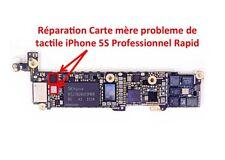 Reparation carte mere iPhone 5S probleme de tactile Professionnel Rapid