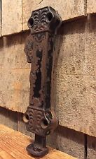 RARE Antique Hardware Spring Loaded Door Bolt Latch  PAT August 8, 1865 LOOK!!!