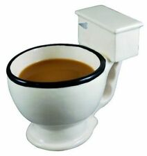 Bigmouth Toilet Coffee Mug Tea Drink Cup Poo Novelty Ceramic 3d