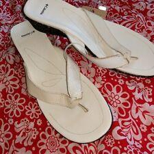 1f646a5819c Nuevo Con Etiquetas Columbia Zafiro Flip Flop Sandalias Cuña de aspecto  envejecido para mujer Talla 11
