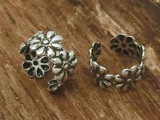 clip orecchio fiori argento 925 1 pezzo Orecchini orecchino a clip