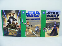 Lot de 3 livres STAR WARS The Clone Wars + N° 3 & 4 Bibliothèque verte
