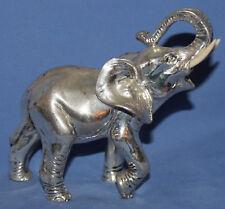 HAND MADE SILVER COATED ELEPHANT FIGURINE