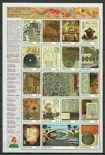 EC105 MICRONESIA MILLENNIUM 0-1000 SCIENCE TECHNOLOGY OF ANCIENT CHINA 1SH MNH