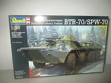 PANZERWAGEN BTR-70/SPW-70 KIT MONTAGGIO 030063 REVELL SCALA 1:35