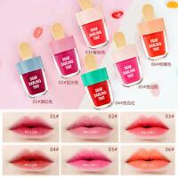Korean Ice Cream Shaped Matte Liquid Lip Gloss Makeup Long Lasting Lipstick