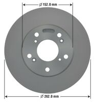 Disc Brake Rotor-HF Front OMNIPARTS 13060104