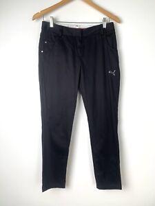PUMA Sport Lifestyle Women's Black Golf Pants  Size 8 AU/UK - W29 L28