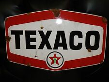 Antique style vintage vintage Texaco Star dealer service gas station large sign
