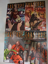 Farscape comic set - D'Argo's Quest 1 2 3 4 - Mint - A or B covers
