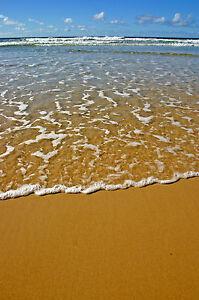 canvas landscape photo art  seascape beach A1 SIZE PRINT canvas