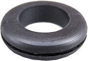 """9mm 3/8"""" Black Rubber Wiring Grommet Grommets Cable Open Hole Electrical x 5"""