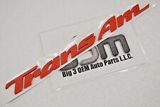 1993-2002 Pontiac Trans Am Driver or Passenger Door Red Emblem new OEM 10193493