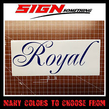 Royal Decal / Sticker royalty