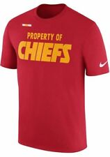 Kansas City Chiefs NFL Nike Property of Team Issue on Field XL T-shirt