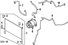 Nissan Rogue OEM 2014 - 2016 Condenser Assembly 92100ABA2A