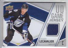 2011-12 UD SERIES VINCENT LECAVALIER GAME JERSEY GAME USED Upper Deck Lightning