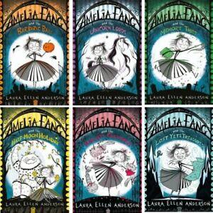 Amelia Fang 6 Book Collection Set (RRP £41.94) Laura Ellen Anderson BRAND NEW