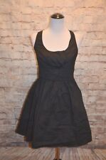 Ruby Rox Retro Black Fit & Flare NWT 11 Macy's tulle underlay pleating poplin