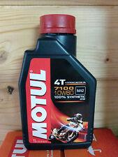 Motul 7100 10w60 1 Litro 4 tiempos ACEITE DE MOTOR MX Motocross Enduro Quad